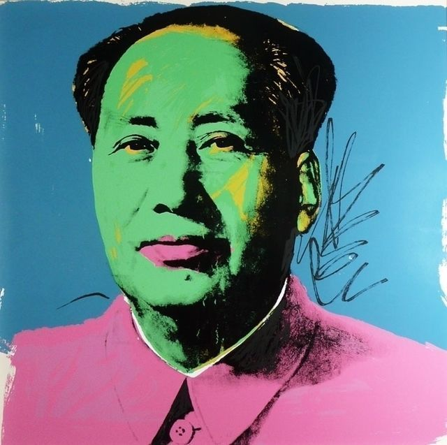 Andy Warhol, Mao FS II.93, 1975